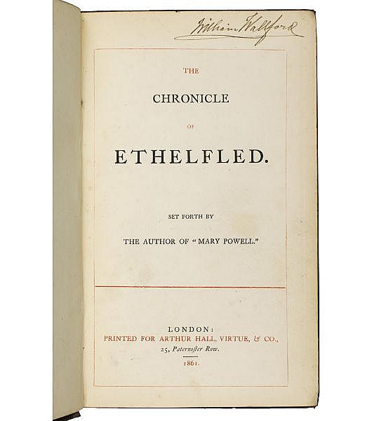 The Chronicle of Ethelfled.