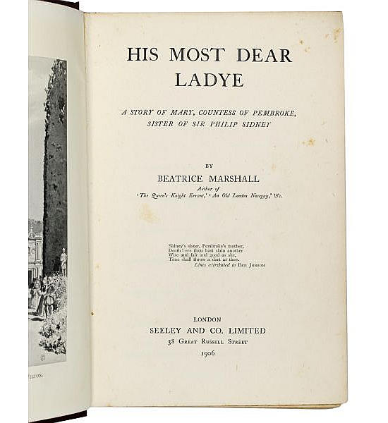 His Most Dear Ladye.