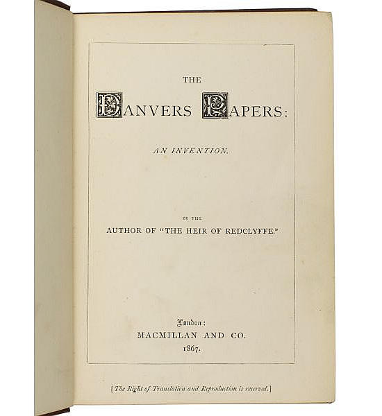 The Danvers Papers: