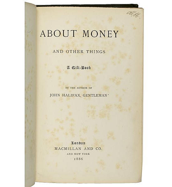 About Money and other things: