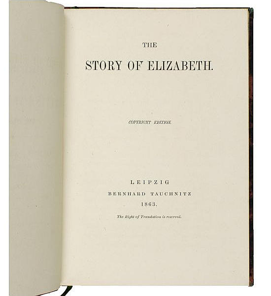 The Story of Elizabeth.