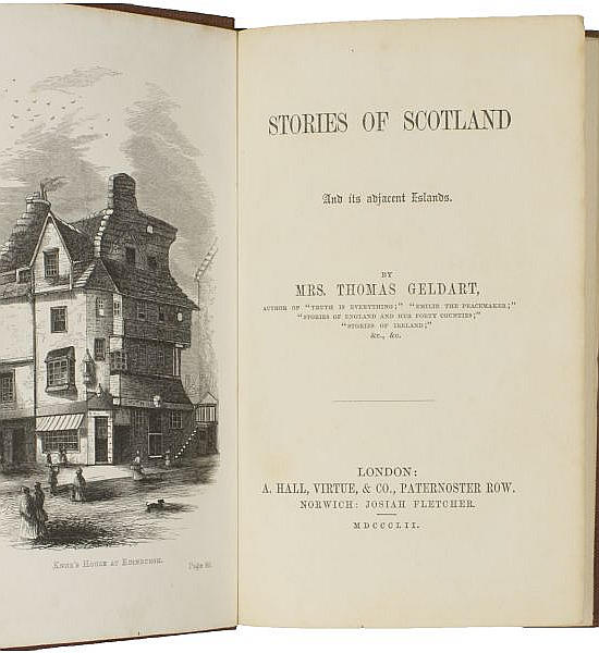 Stories of Scotland and its Adjacent Islands.