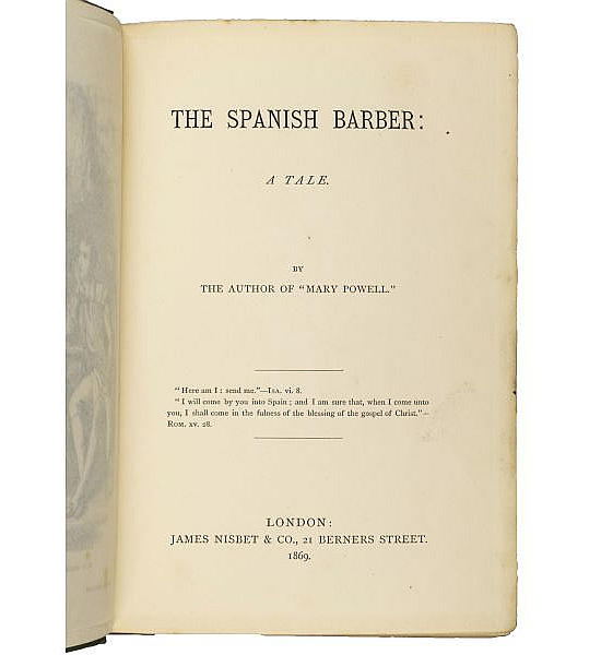 The Spanish Barber: