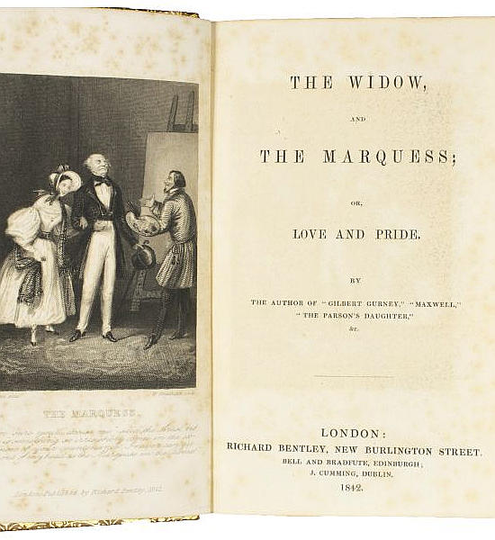 The Widow, and the Marquess;