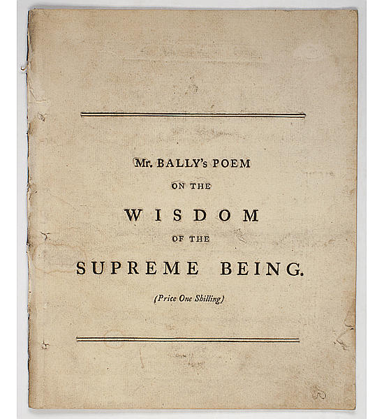 The Wisdom of the Supreme Being.
