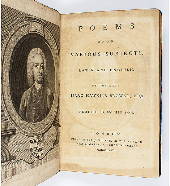 Poems upon Various Subjects,