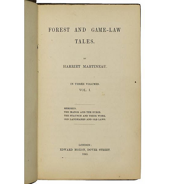 Forest and Game-Law Tales.