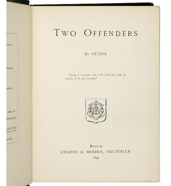 Two Offenders.
