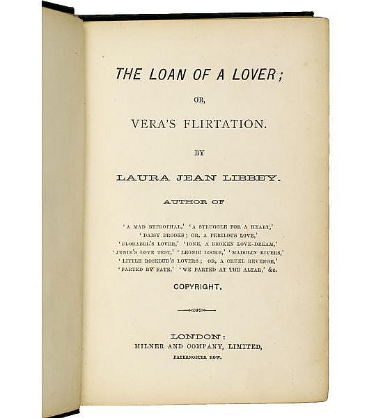 The Loan of a Lover;