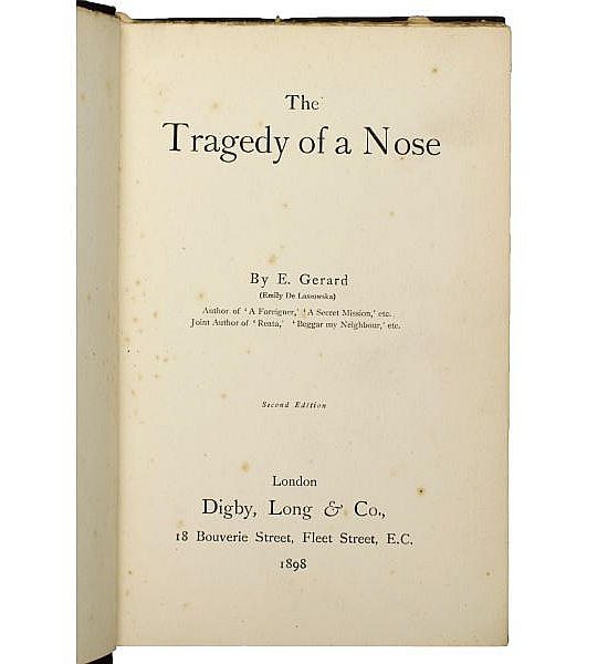 The Tragedy of a Nose.