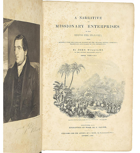 A Narrative of the Missionary Enterprises in the South Sea Islands;