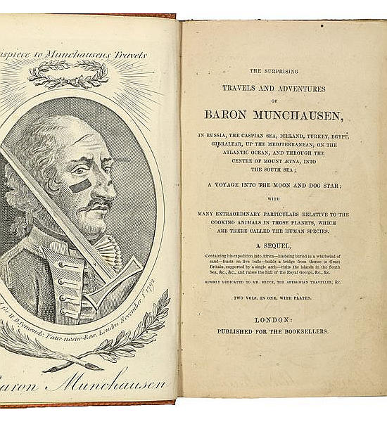 The Surprising Travels and Adventures of Baron Munchausen,
